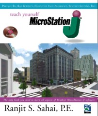 Teach yourself MicroStation -  Book Cover